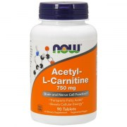 NOW Acetyl-L Carnitine 750 мг 90 капс